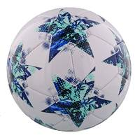 Champions League voetbal - wit/blauw