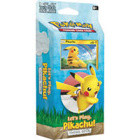 Pokémon TCG Let's Play Pikachu Eevee theme deck