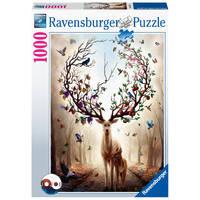 Ravensburger puzzel Fantasy hert - 1000 stukjes