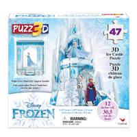 Disney Frozen 2 3D-puzzel ijspaleis - 47 stukjes