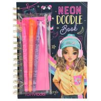 TOPModel Neon Doodle boek + stiften