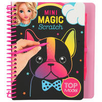 TOPModel mini Magic scratchboek