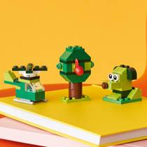 LEGO CLASSIC 11007 GROENE STENEN