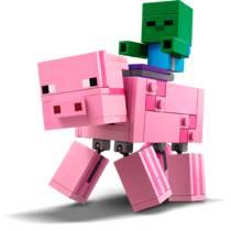 LEGO MINECRAFT 21157 VARKEN & BABYZOMBIE