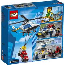LEGO CITY 60243 POLITIEHELIKOPTER ACHTER