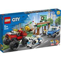 LEGO City politiemonstertruck overval 60245