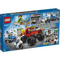 LEGO CITY 60245 POLITIEMONSTERTRUCK OVER