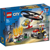 LEGO City brandweerhelikopter reddingsoperatie 60248