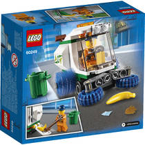 LEGO CITY 60249 STRAATVEEGMACHINE