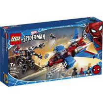 LEGO Marvel Super Heroes Spiderjet vs Venom Mecha 76150