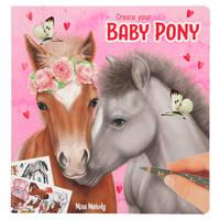 Miss Melody Create your baby pony kleurboek