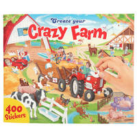 Create your Crazy Farm tekenboek