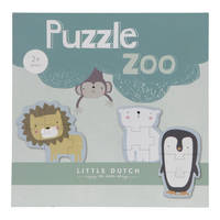 Little Dutch dierentuindieren puzzel