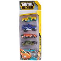 Metal Machines Cars Serie 1 auto set van 5