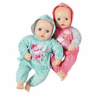 BABY ANNABELL BABY SUITS 2 ASSORTED 43CM