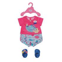 BABY born Bad pyjama met schoenen poppenkledingset