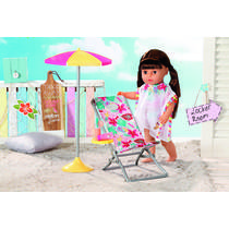 BABY BORN HOLIDAY DELUXE RELAX SET 43CM