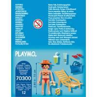 PLAYMOBIL 70300 VAKANTIEGANGER MET STRAN