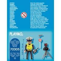 PLAYMOBIL 70305 POLITIEMAN MET FLITSCONT