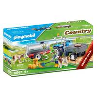 PLAYMOBIL Country landbouwer met maaimachine 70367