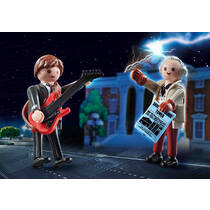 PLAYMOBIL 70459 DUOPACK MARTY MCFLY & DR
