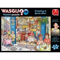 Jumbo Wasgij Mystery 18 Een snelle hap - 1000 stukjes