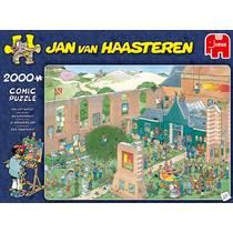 Jumbo Jan van Haasteren puzzel de kunstmarkt - 2000 stukjes