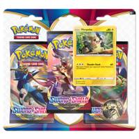 Pokémon TCG Sword & Shield 3-boosterblister Morpeko