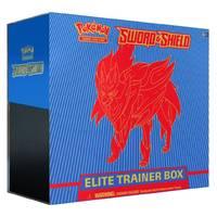 Pokémon TCG Sword & Shield elite trainer box