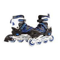 Inline skates - maat 35-38 - blauw/zwart