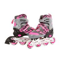 Inline skates - maat 39-42 - roze/grijs