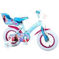 Volare Disney Frozen 2 kinderfiets - 12 inch - blauw/paars