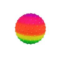 Regenboog noppenbal - 20 cm