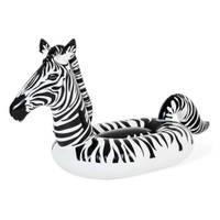 Bestway opblaasbaar figuur zebra met LED