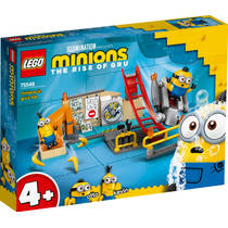 LEGO Minions: The Rise of Gru Minions in Gru's lab 75546