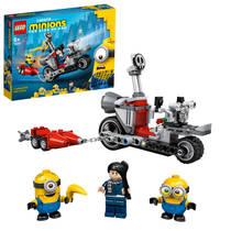 LEGO Minions: The Rise of Gru Enerverende motorachtervolging 75549
