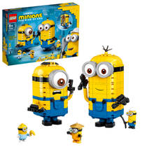 LEGO Minions: The Rise of Gru figuren van stenen en hun schuilplaats 75551