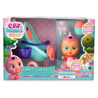 Cry Babies Magic Tears Fancy's wandelwagen speelset
