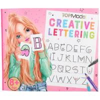TOPModel Creative Lettering kleurboek