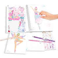 CREATE YOUR FANTASY MODEL KLEURBOEK BALL