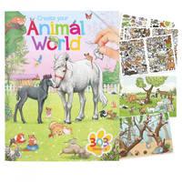 Create Your Animal World kleurboek