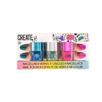Create It! zeemeermin nagellak set 3-delig