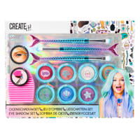 Create It! luxe oogschaduw zeemeermin make-up set