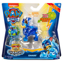 PAW Patrol Mighty Pups Charged Up figuur Chase