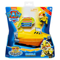 PAW Patrol Mighty Pups Charged Up voertuig Rubble