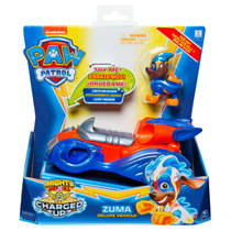 PAW Patrol Mighty Pups Charged Up voertuig Zuma