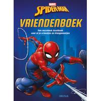 Spider-man vriendenboek - blauw