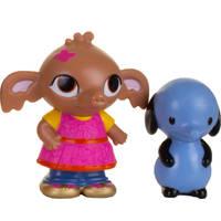 Bing speelfigurenset Sula en Amma