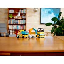 LEGO 10931 TRUCK & TRACKED EXCAVATOR