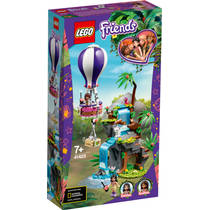 LEGO Friends tijger reddingsactie met luchtballon in jungle 41423